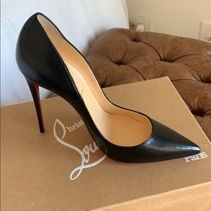 Louboutin So Kate 120mm KID LEATHER
